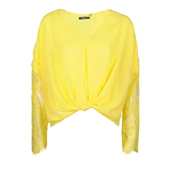 3571a88e2 Guess Marciano Blouse - 74G4768557Z - 36(EU)-10(UK): Amazon.co.uk: Clothing
