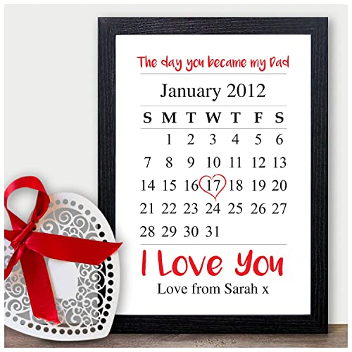 Day You Became My Dad Personalised Christmas Gifts Daddy Father ...