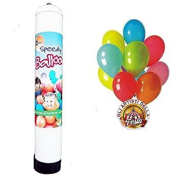 Bombona de gas helio desechable para inflar 15 globos para fiesta de cumpleaños