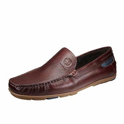bugatti 331-26260-1100-6100 - Mocasines de Piel Lisa para Hombre: Amazon.es: Zapatos y complementos