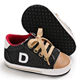 Toddler Girls Boys Baby Canvas Shoes Soft Sole