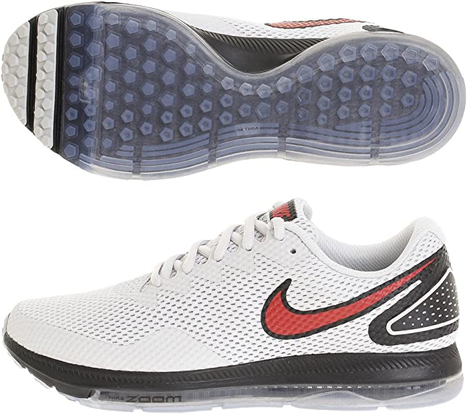27c9e1dabc06 Nike Men s Zoom All Out Low 2 Running Shoe Pure Platinum University Red  Black (