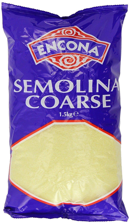 Encona Semolina Coarse Savoury & Sweet Dishes 1.5KG