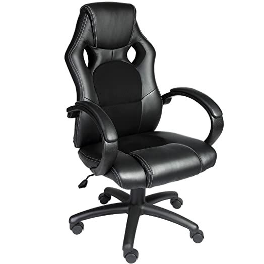 comfortable office chairs for gaming. deuba office chair racing design, gaming, gamers computer desk chair, pu leather, comfortable chairs for gaming