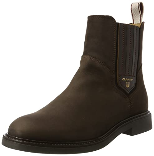 Ashley, Zapatillas de Estar por Casa para Mujer, Marrón (Dark Brown G46), 42 EU GANT