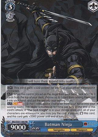 Amazon.com: Weiss Schwarz - Batman Ninja - BNJ/SX01-066 RR ...