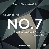 Shostakovich: Sinfonía Nº 7 / Russian National Orchestra. Paavo Järvi, Dirección