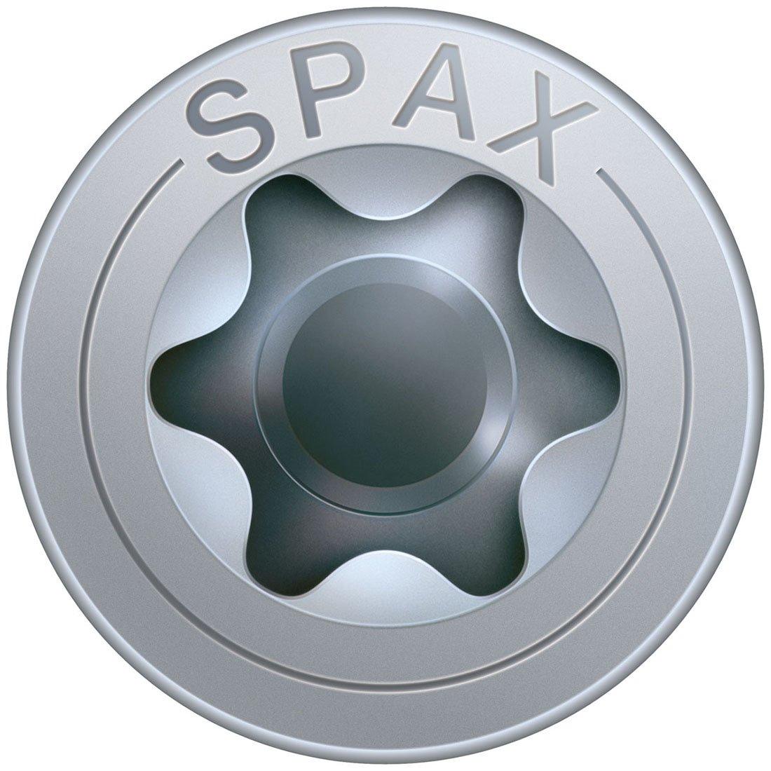 Spax Lot de 50 vis de construction /à t/ête frais/ée T-Star plus Profil/é partiel Rev/êtement Wirox homologu/é 8 x 100 mm 0//1010//036//   8,0//  280//     //01