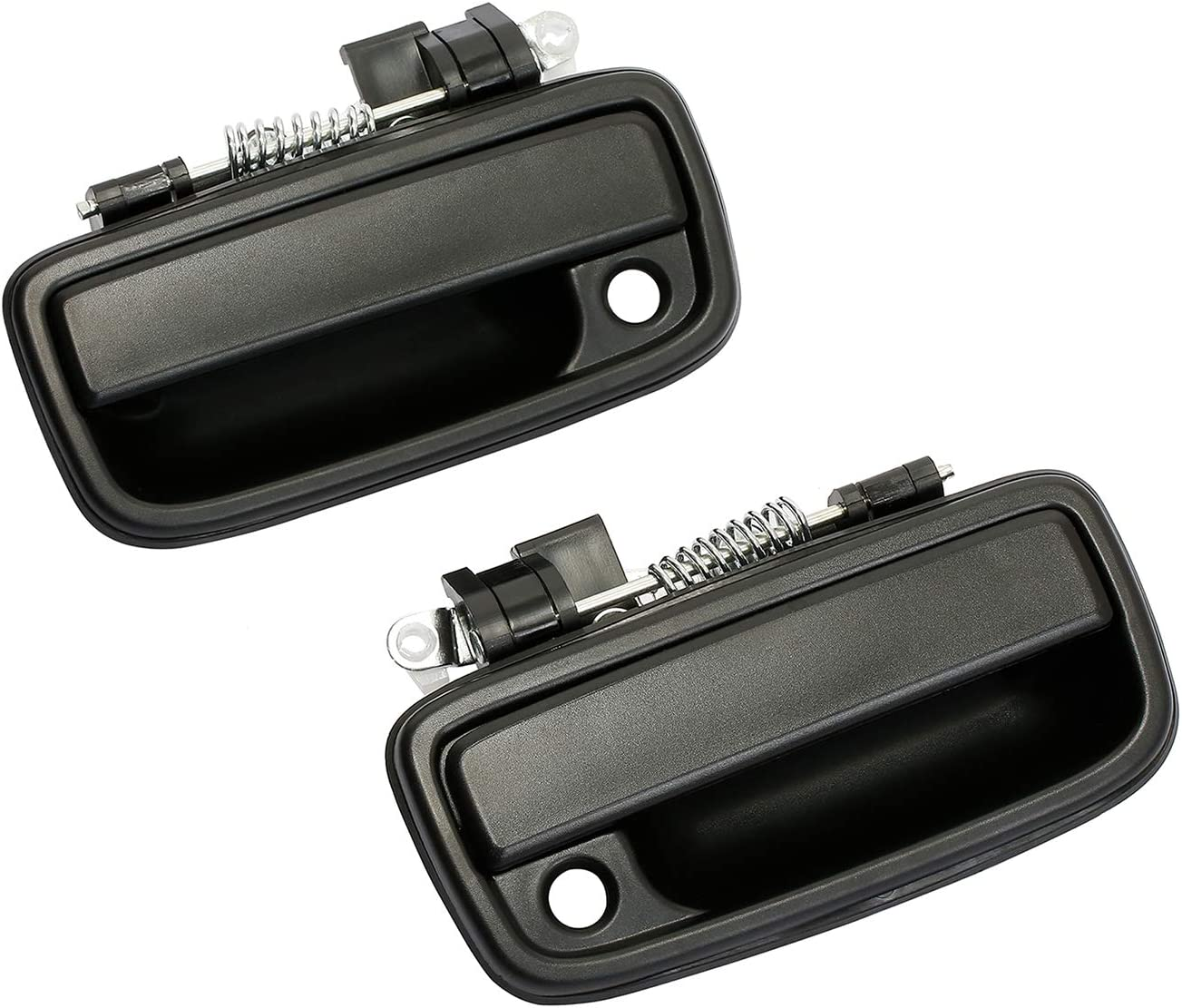 Exterior Door Handle Front Left /& Right Pair with Key Hole 69210-35020 Replaces# 69220-35020 Replacement for 1995-2004 Toyota Tacoma