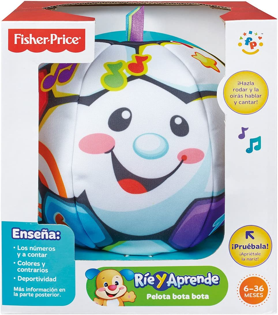 Fisher-Price - Pelota Bota Bota (Mattel BMJ24): Amazon.es ...