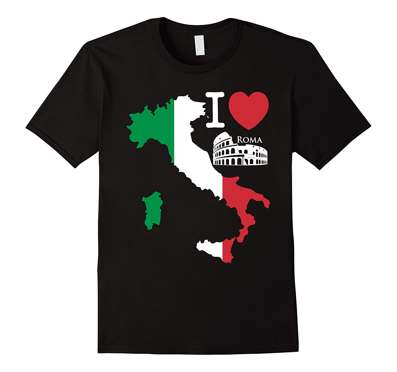 Italy Tshirt - Italian Rome Souvenir T-Shirt-Vaci