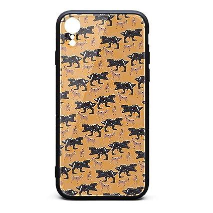 2433fad1329 Amazon.com  ZaiyuXio iPhone XR Case Huge Dinosaur Scared Lamb ...