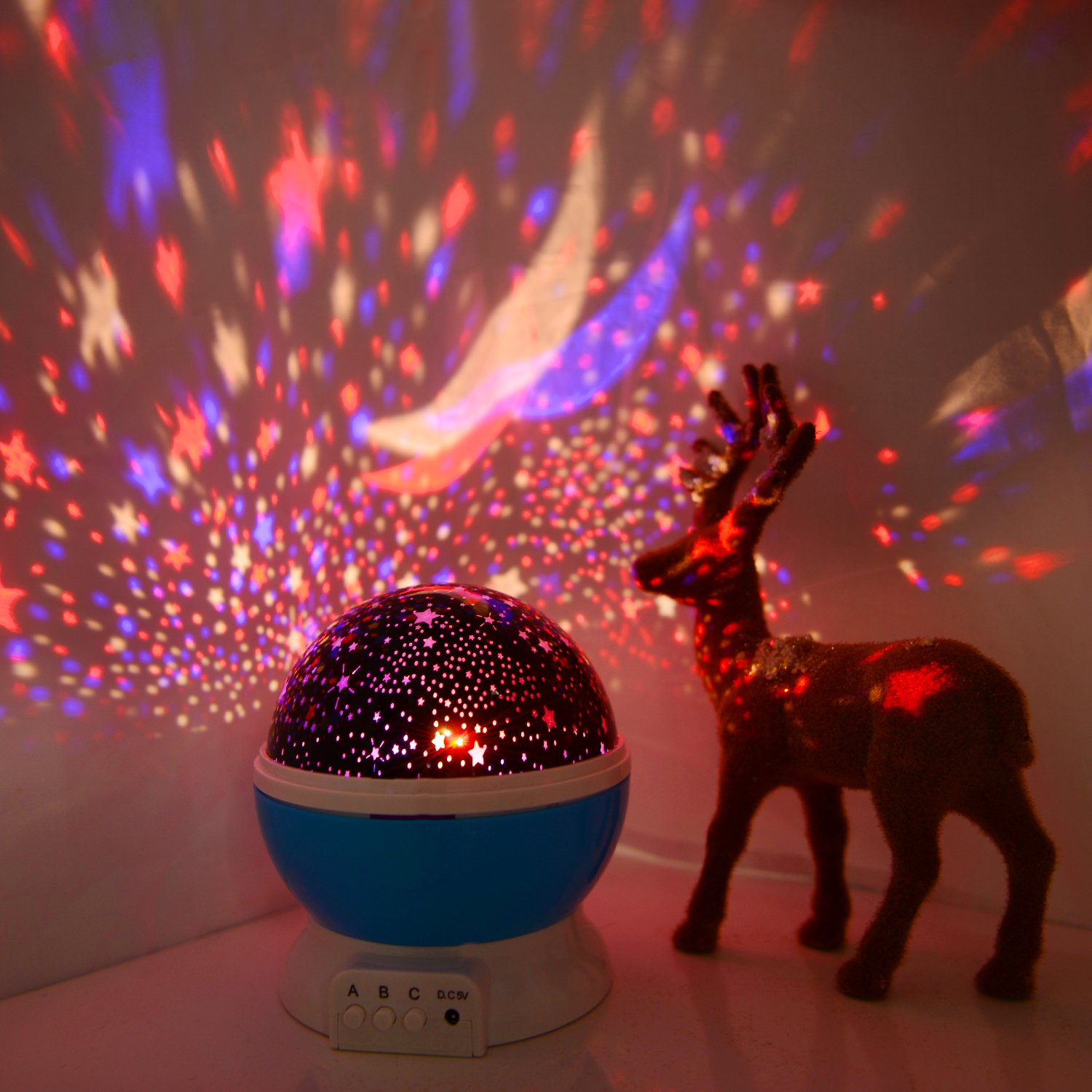 Boomile Star Projector, Kids Night Lights, Baby Lighting Lamp Decoration Light for Baby/Kids, Party