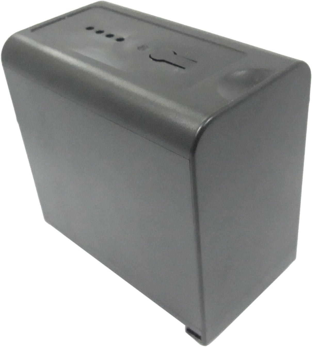6600mAh Replacement for Panasonic AJ-PX270 AJ-PX298MC Battery P//N VW-VBD78 AJ-PX298