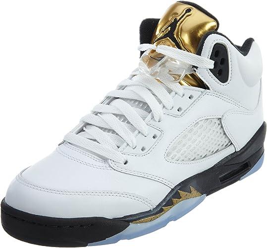 Nike Jungen Air Jordan 5 Retro Bg Basketballschuhe: Amazon