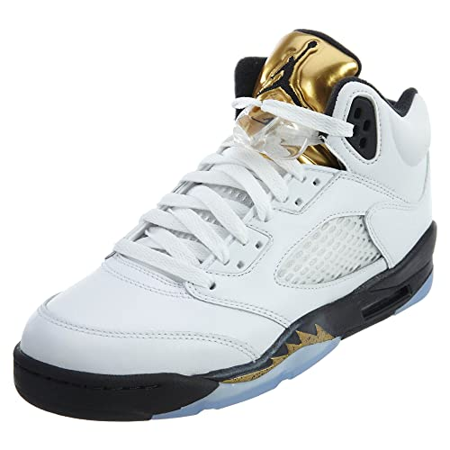 3e2d9dacc31c AIR JORDAN 5 RETRO BG (GS)  OLYMPIC GOLD  - 440888-133  Jordan  Amazon.ca   Shoes   Handbags