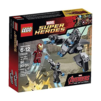 LEGO Marvel Super Heroes Iron Man vs. Ultron (76029): Toys & Games