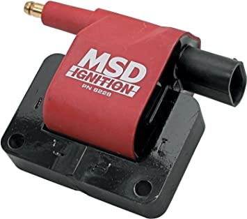 MSD 8228 Blaster Ignition Coil  Jeep Wiring Harness Msd on