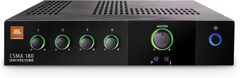 JBL Professional CSMA180 Commercial Series 80-Watt Powered Audio Mixer/Amplifier