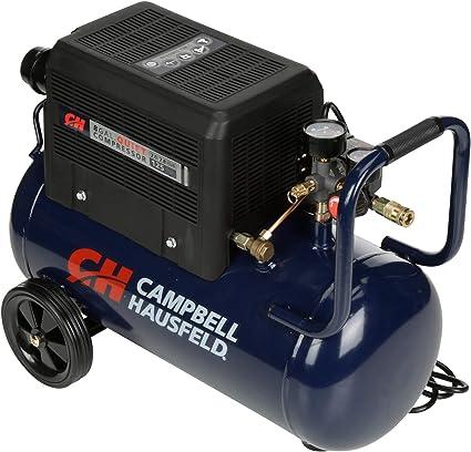 Amazon.com: Campbell Hausfeld 8 Gallon Portable Quiet Air ...