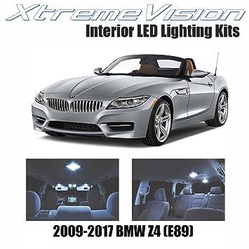 xtremevision BMW Z4 (E89) 2009 - 2017 (8 piezas) color blanco frío paquete de interior LED Kit Premium + herramienta de instalación: Amazon.es: Coche y moto