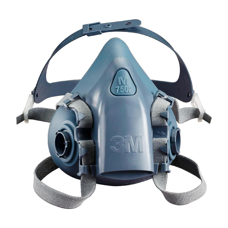 3M Halbmaskenkö rper, aus Silikon mit strukturierter Gesichtsabdichtung, Grö ß e M, 1 Stü ck, 7502