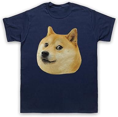 My Icon Art & Clothing Doge Head Meme Camiseta para Hombre: Amazon.es: Ropa y accesorios