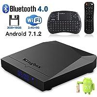 Kingbox K3 4K 16GB Android TV Box w/ Mini Keyboard