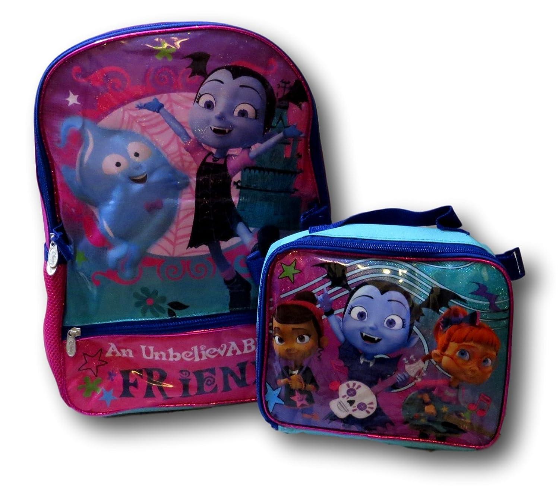fced35ec761 good Disney Vampirina Backpack W  Detachable Lunch Box ...