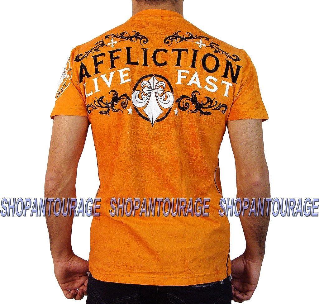 Affliction Virtue Men`s Short Sleeve Fashion Graphic T-Shirt for Men