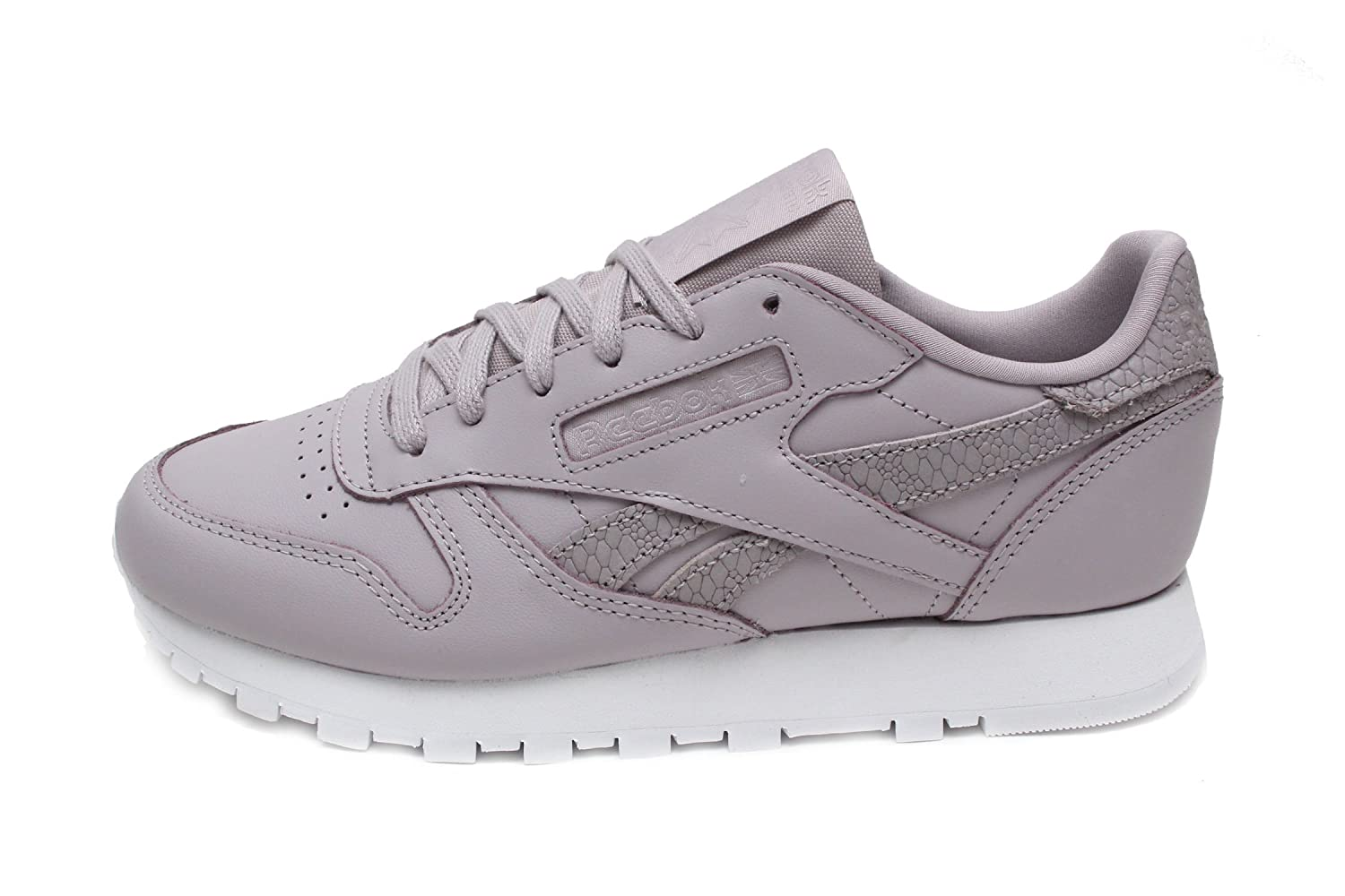 Reebok レディース Cl Lthr Ps Pastel B078VHKQYW 6 B(M) US|Lavender Luck/White Lavender Luck/White 6 B(M) US