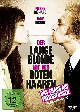 Lange Blonde Mit Den Roten Haaren Amazoncouk Dvd Blu Ray