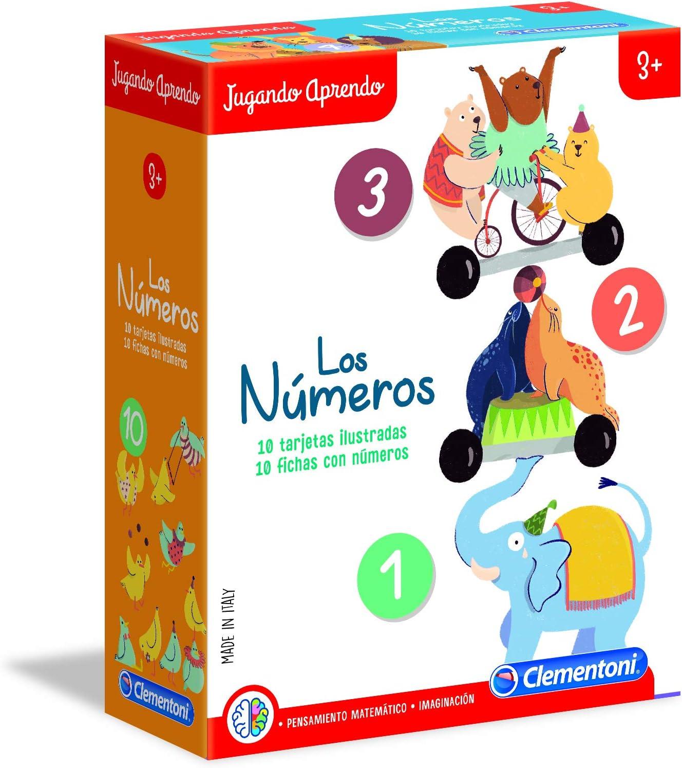 Clementoni - Juego Los números (55303)