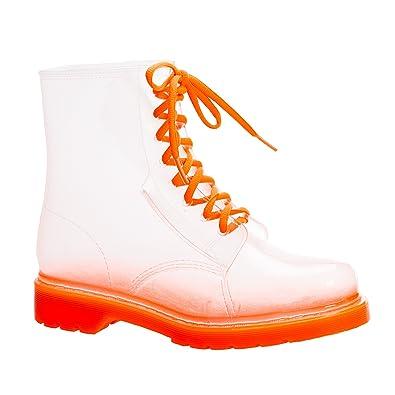 JellyJolly Regen Stiefel Wasserdichte Frauen 37 EU Transparent DD11-00-37 xnCCknXZ