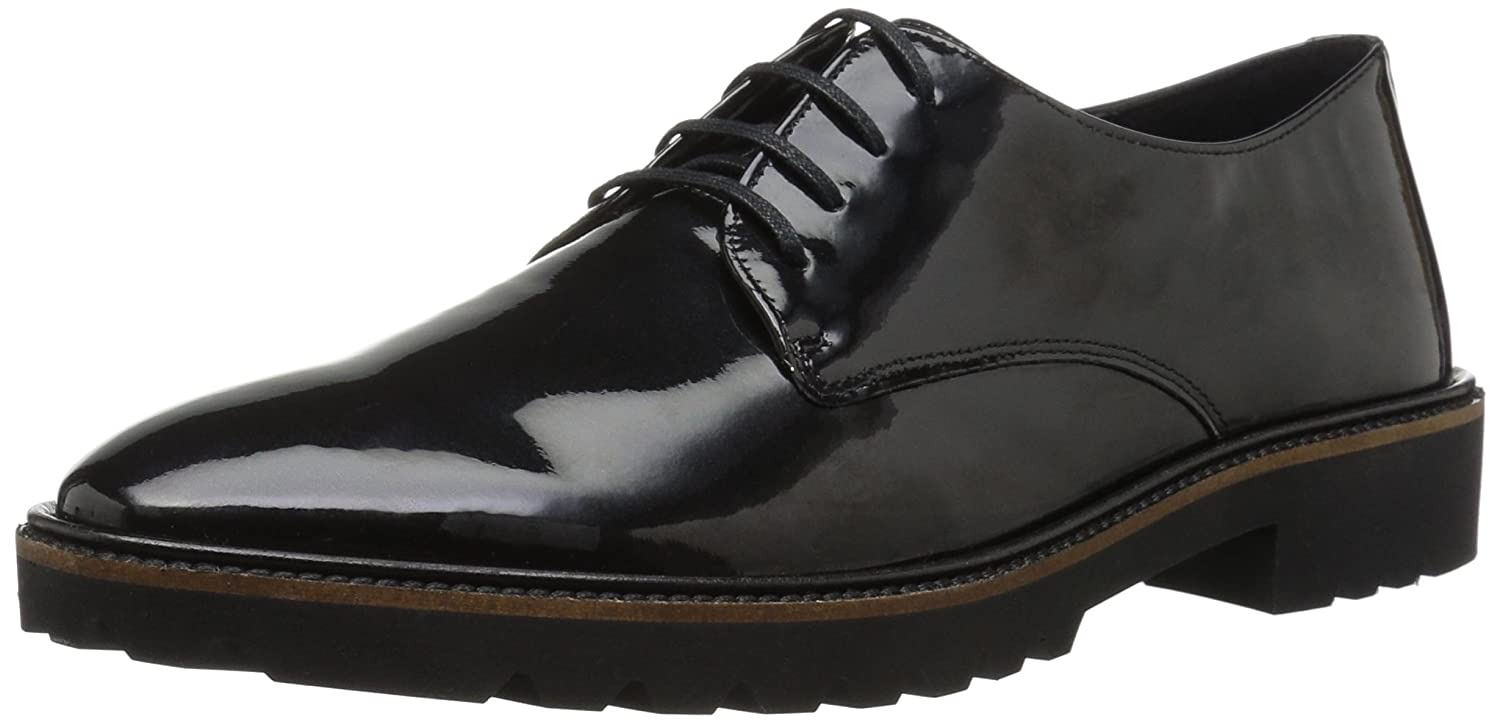 Ecco Incise Tailored, Zapatos de Cordones Brogue para Mujer 35 EU|Negro (Black 01001)