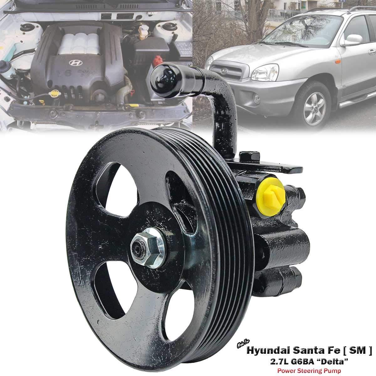 Power Steering Pump For Hyundai Santa Fe SM 2000-2006 2.7L G6BA Delta V6
