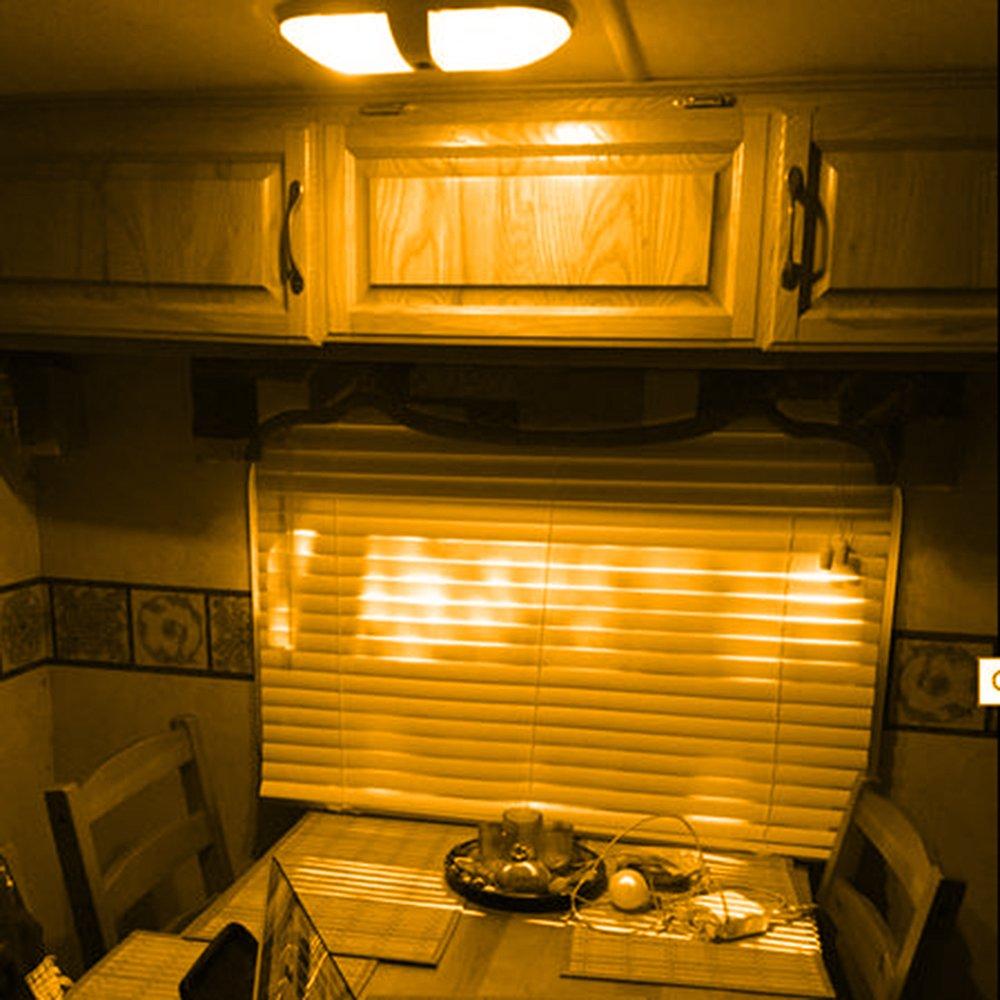 T10 921 194 24-3528 SMD LED Bulb lamp Super Bright Warm White DC 12V pack of 10