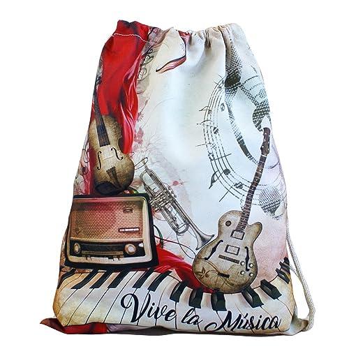 Artemodel Música mochila saco 32 x 40 cm ref: 0458: Amazon.es: Zapatos y complementos