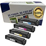 HI-VISION HI-YIELDS Compatible Toner Cartridge Replacement for Canon 045 (Color, 4-Pack)