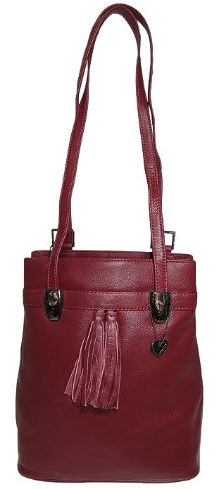 33831f607f503 Josybag Leder Rucksack Tasche Lissabon - Bordeaux - Shopper vario. Für  größere Ansicht Maus über das Bild ziehen. Josephine Osthoff Handtaschen- Manufaktur