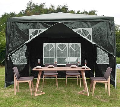 ISE - Cenador de 3 x 4 cm para fiestas, camping, festivales ...