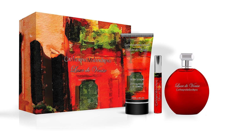 4fd761380ed8 Amazon.com  Catherine Malandrino Luxe De Venise 3 Piece Eau de Parfum Spray  Gift Set  Luxury Beauty