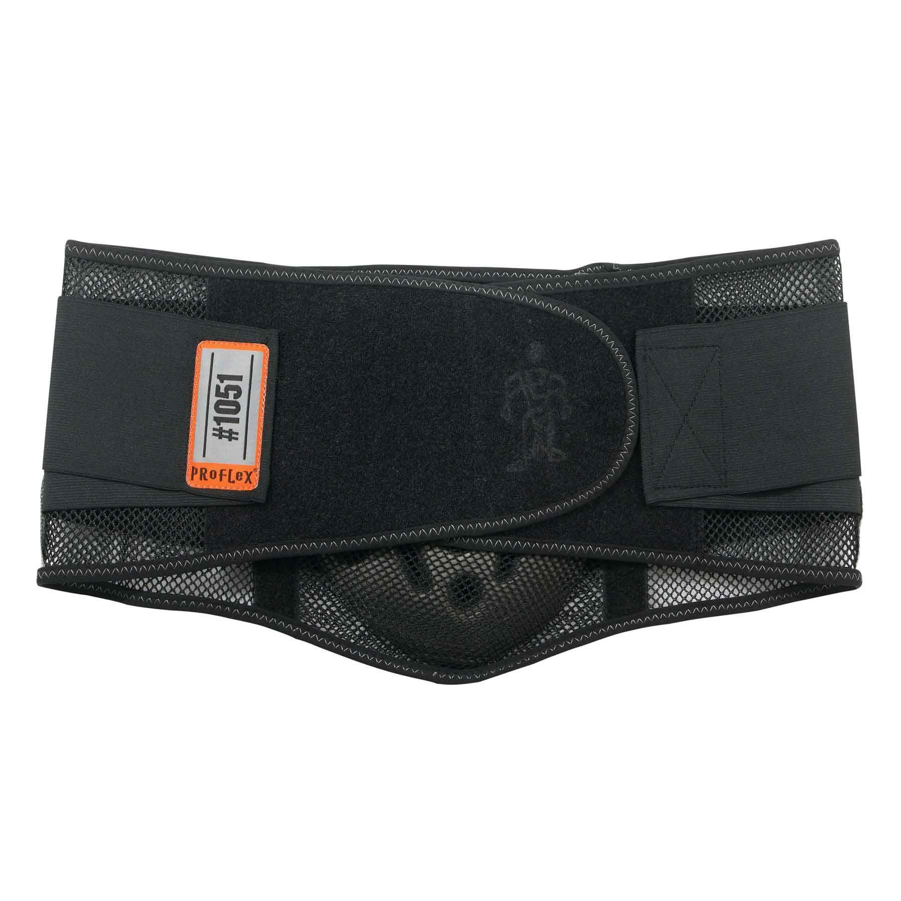 Ergodyne - 1051 L Black Mesh Back Support w/Lumbar Pad