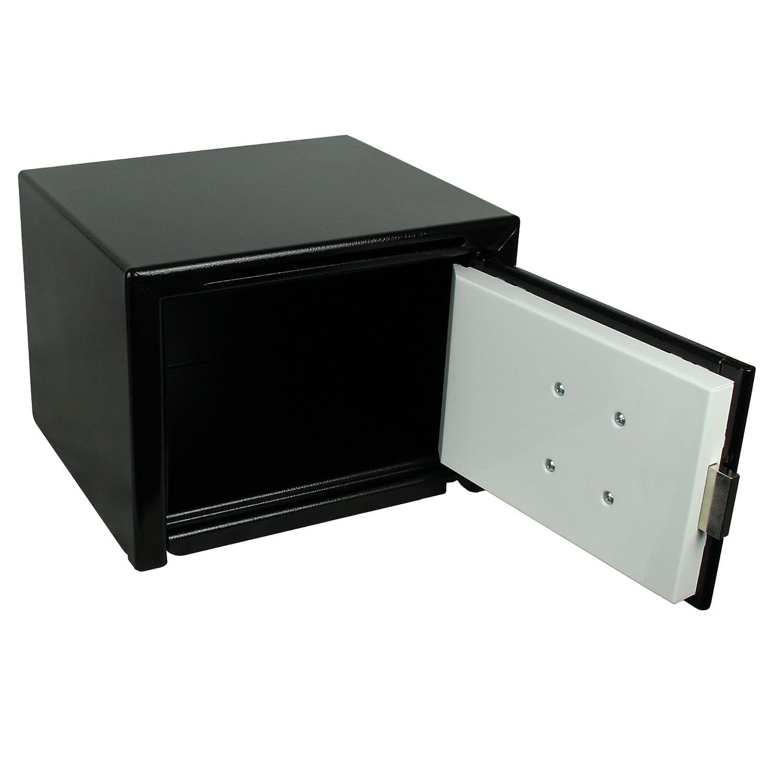 Schwarz BURG-W/ÄCHTER M/öbeleinsatztresor mit Einwurfschlitz und Sicherheits-Doppelbartschloss HomeSafe H 3 S C4 EWS