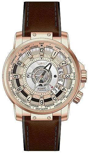 Aviator avw2160g367 Hombre F Serie Ciudades del Mundo, Edición Limitada Reloj: Amazon.es: Relojes