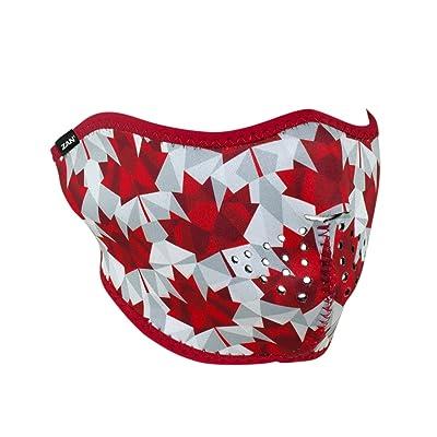 Zanheadgear WNFM139H Neoprene Half Face Mask, Canadian Pride: Automotive