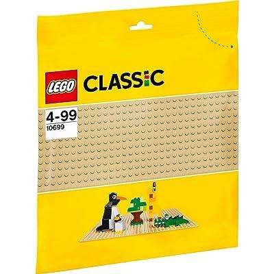 (European Version) Lego classic foundation plate (Beige) 10699: Toys & Games