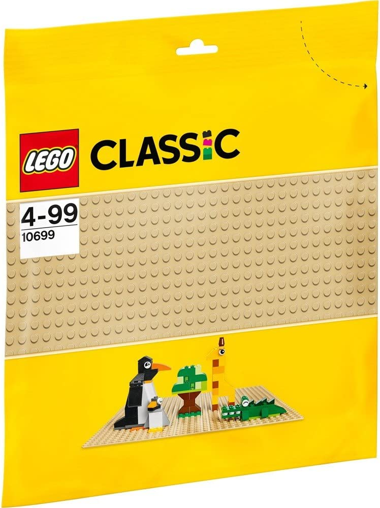 (European Version) Lego classic foundation plate (Beige) 10699
