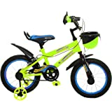 Outplayo Sports Sky Blue Bicycle for 3 to 5 Years Kids 14T