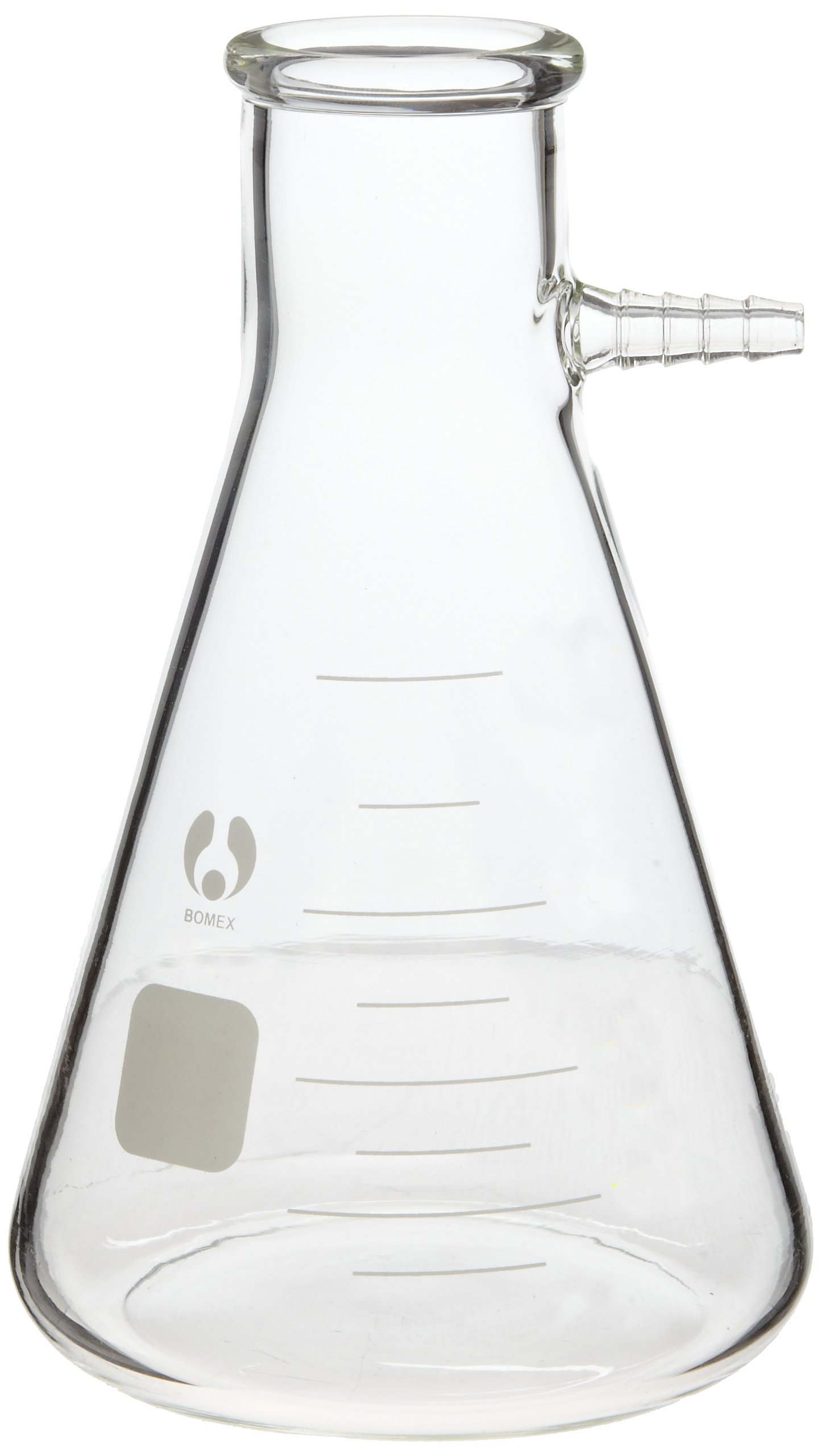 American Educational 7-880500-A Filtering Flask, Bomex Brand Clear Borosilicate Glass, 500mL Capacity by American Educational Products